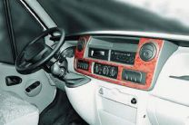 Hout inleg dashboard voor renault, nissan, opel modeljaar 2003 - 2010