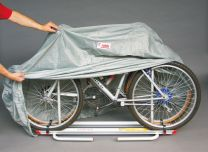 Beschermhoes voor fietsendrager disseldrager of chassis drager