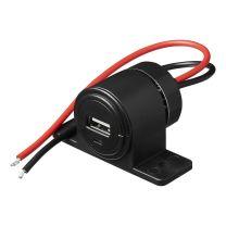 USB-opbouwstekkerdoos 2100mA 12V/24V