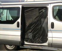 Horgordijn schuifdeur Trafic, Vivaro, Nissan NV300 2007-2013