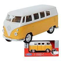 Volkswagen T1 bus schaal model 1:34 geel