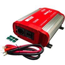 NDS SP1500I-12 Omvormer 12VDC>230VAC, 1500W Pure Sinus, IVT