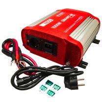 NDS SP1000I-12 Omvormer 12VDC 230VAC, 1000W Pure Sinus, IVT