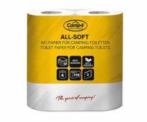 Toiletpapier CAMP4 2 laags 4 rollen