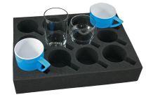 Foam bekerhouder voor glas / kopjes