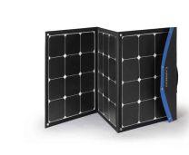 Opklapbaar zonnepaneel 120W met USB uitgang Tas model