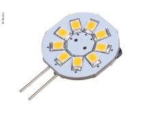 LED G4 lamp 1.5W 120 lumen 9 warm wit SMD