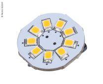LED G4 lamp 1,5W 120 Lumen 9x warm wit SMD