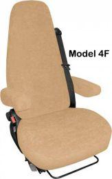 Stoelhoezen set voor de Aguti camper stoelen 4F