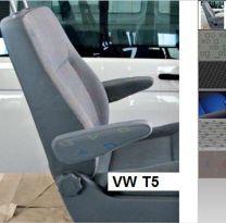Armleuning opbouw set VW T5 tot 2010