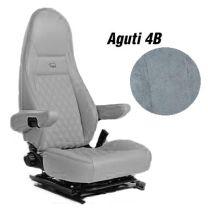 Badstof stoelhoezen set 4B voor Aguti stoelen Grijs