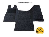 Cabine mat Renault Master, Opel Movan, Nissan Interstar 2003 tot 2010
