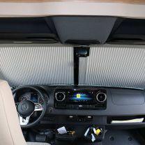 Remifront verduisteringsysteem Mercedes Sprinter 2019 - heden VS230 voorzijde met grote sensor