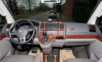 Hout inleg dashboard voor Volkswagen T5 na 2009