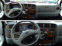 Hout inleg dashboard voor fiat, peugeot, citroen modeljaar 1994 - 2002