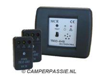 MCR Trio gas melder (detector) inbouw 2 sensoren