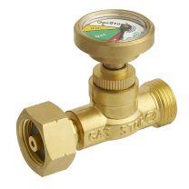 Anti lek Gasstop gasindicator incl. thermo- en slangbreukbeveiliging