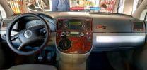 Hout inleg dashboard Volkswagen T5 Multivan na 2003 met manuele airco