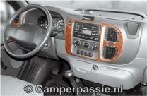 Ford transit hout decor