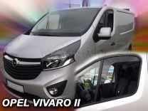 Raamspoiler set voor Renault Trafic en Opel Vivaro 2014-