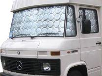 Raamisolatie binnenzijde Mercedes Benz 407 / 508 standaard model
