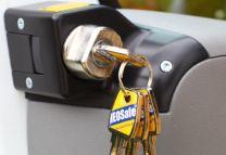 Portiersloten set afsluitbaar met sleutelslot  Fiat, Peugeot, Citroen 2006 - heden ( X250 en X290)