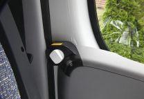 Portiersloten set afsluitbaar met draaiknop voor Fiat, Peugeot, Citroen 2006 - heden ( X250 en X290)