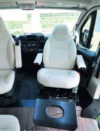 Relax voetenbank uitschuif systeem geschikt voor Fiat, Peugeot, Citroen X250 X290 2006 - heden
