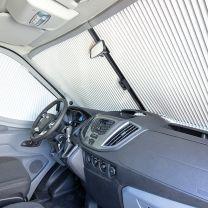 Remifront 4 verduisteringsysteem Ford Transit V363 2019 - heden voorzijde met lichtpakket euro 5