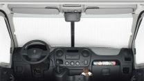 Remifront 4 verduisteringsysteem Renault, Nissan, Opel 2011 - heden voorzijde met regensensor