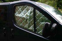 Raamisolatie binnenzijde Renault Trafic, Opel Vivaro, Nissan NV300 2014 - heden