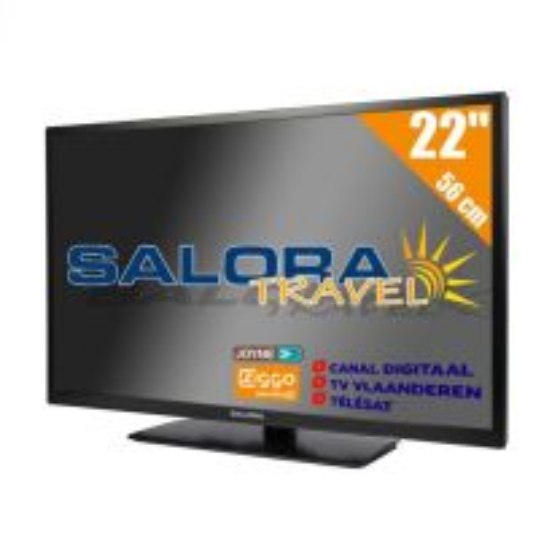 Salora 22 Inch Travel LED TV 12/230V