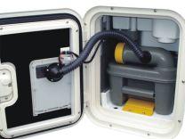SOG set deurvariant voor Thetford C2 / C3 / C4 type A wit