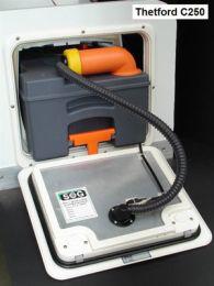 SOG set deurvariant voor Thetford C250 / C260 type F wit