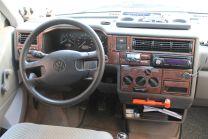 Hout inleg dashboard voor Volkswagen T4 Transporter 1995 - 1998