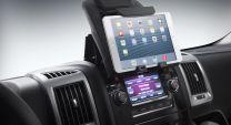 Tablet Ipad en smartphone houder voor op het dashboard Fiat ducato 2006- tot heden