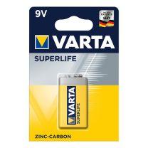 Varta Superlife batterij 9V in blister