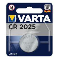 Varta Lithium CR2025 3.0V (20.0 x 2.5)