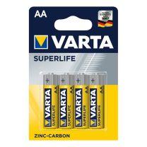 Varta Superlife batterijen AA 4 stuks