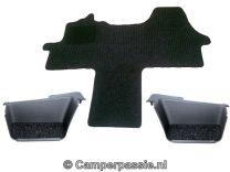 Cabine mat + instapmatten (voordeel set) Ford Transit modeljaar 2014 - heden