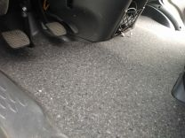 Isolatie vloerplaat voor Renault, Nissan, Opel modeljaar 2003 - 2010