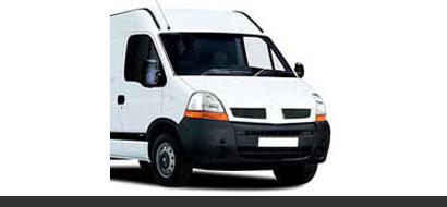 Renault Master camper artikelen